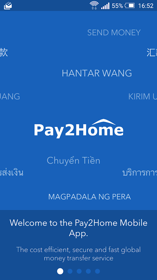 Pay2Home- screenshot