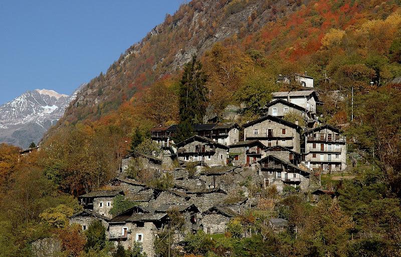 Il borgo di Scilironi in Valmalenco di benny48