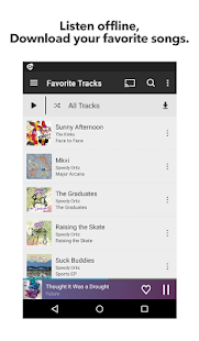 Rhapsody Music Player - screenshot thumbnail