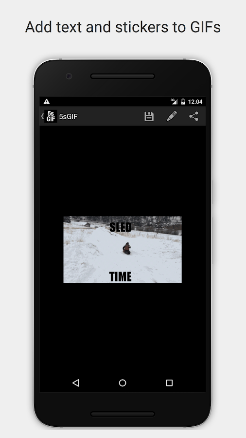 5SecondsApp - Animated GIF Create & Search- screenshot