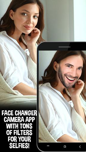 Gender Swap and Aging Camera App screenshot 4