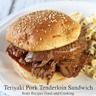 Crock Pot Teriyaki Pork Tenderloin.