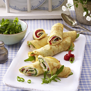 Turkey Pancake Rolls