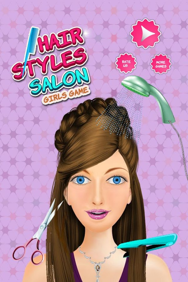 Hair Style SalonGirls Games Android Apps On Google Play - Haircut girl game