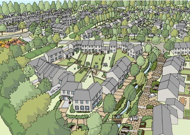 Indicative image of the Inglewood development, proposed between Paignton and Brixham