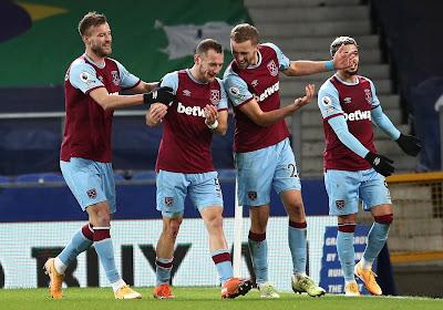 Mauvaise opération pour Everton, battu à domicile par West Ham