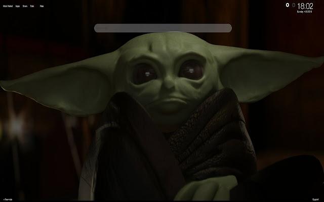 Baby Yoda Hd Wallpapers Tab