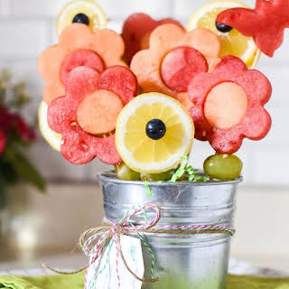 Easy Mother's Day Fruit Bouquets.