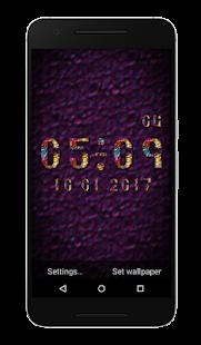 Vega Clock Live Wallpaper - náhled