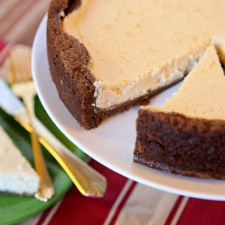 Maple Contest Winner – Maple Cheesecake with Gingersnap Crust