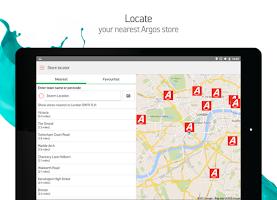 Screenshot of Argos