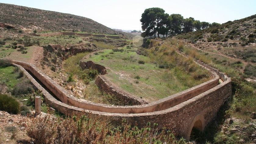 Tramo en superficie por la periferia de Almería.