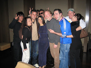 """Photo: With actors and production crew of the TV series:    """"Without a Trace"""""""