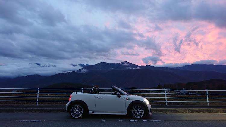 MINI ロードスター のドライブ,富士見町,茅野市,夕焼けコラボに関するカスタム&メンテナンスの投稿画像3枚目