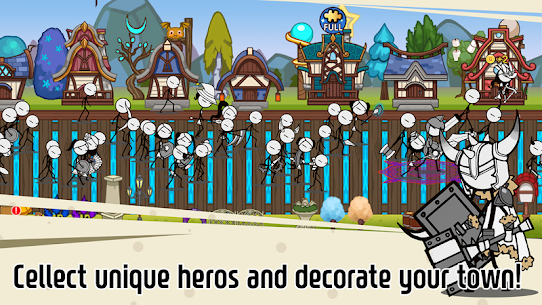 Legend of the cartoon – idle RPG Apk Download For Android and Iphone 3
