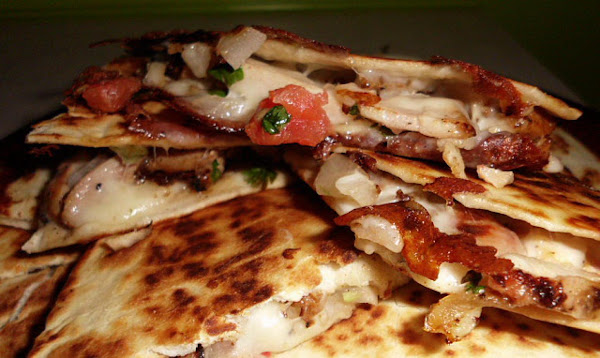 Grilled Chicken And Pico Quesadilla Recipe