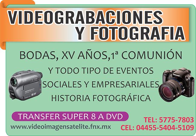 videograbaciones y fotografia