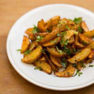Baked Potato Wedges / Potato Wedges Indian Style