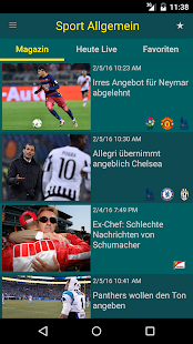 sport.de- screenshot thumbnail