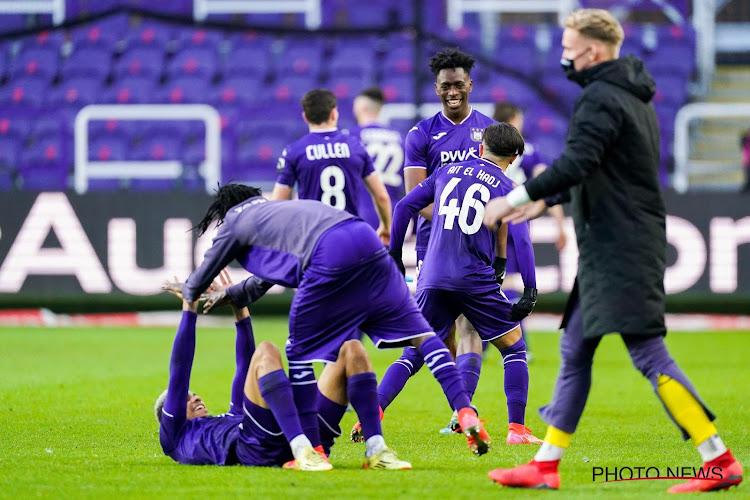 Anderlecht se penche déjà sur la prolongation d'un de ses joueurs
