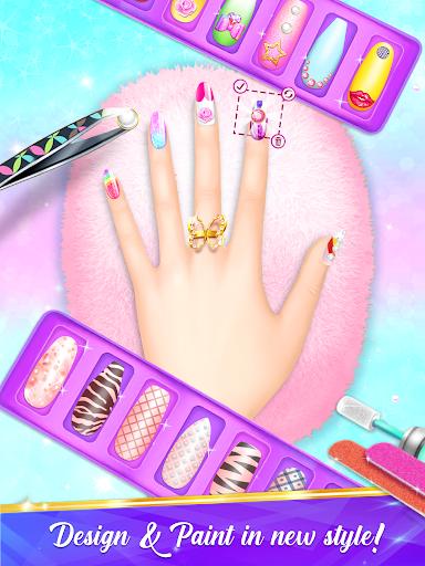 Nail Salon Manicure - Fashion Girl Game  screenshots 13