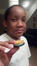 Photo: Jihad's ritz cracker & cool mint oreo combo