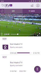 beIN SPORTS CONNECT screenshot 1