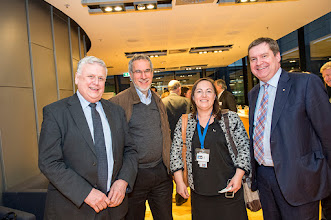Photo: Profs John McNeil, Ross Coppel, Dr Meredith O'Keeffe and Prof Euan Wallace. http://www.med.monash.edu.au/cecs/events/2015-tr-symposium.html