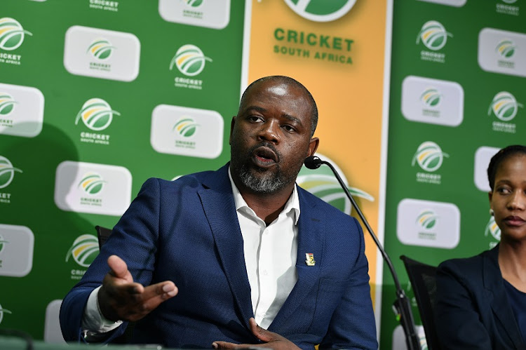 Suspended Cricket South Africa (CSA) CEO Thabang Moroe.