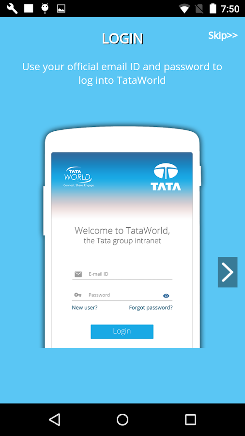 TataWorld- screenshot