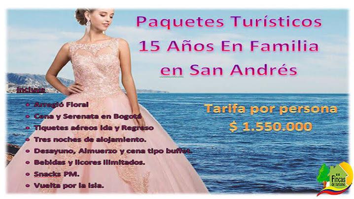 Paquetes Turísticos 15 años en Familia en San Andrés