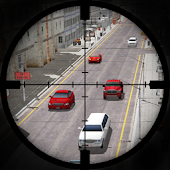 City Traffic Sniper Shooter 3D