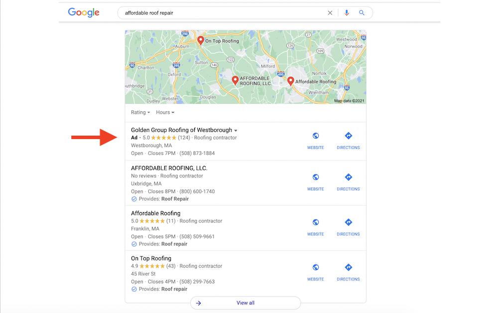 cách để thúc đẩy-trang web-lưu lượng truy cập-google-bản đồ-quảng cáo