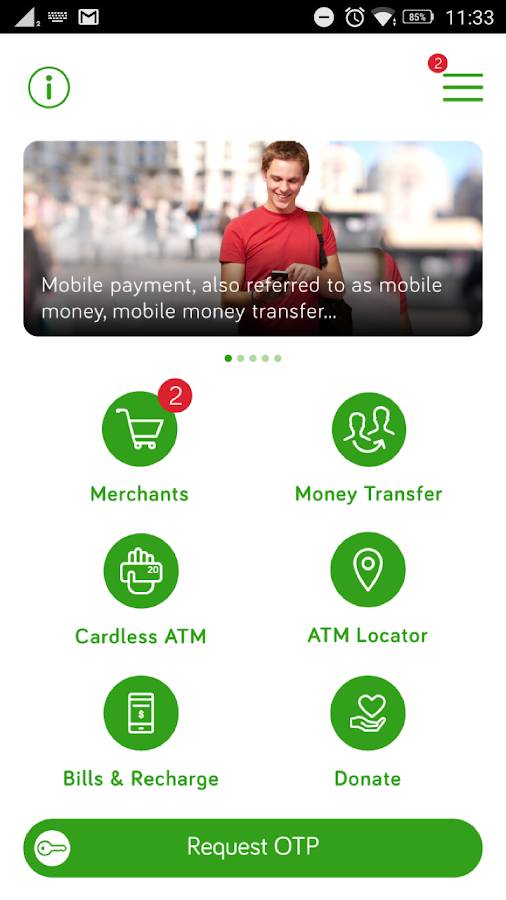 CMO Mobile Payment- screenshot