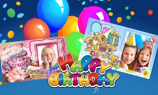 Birthday Photo Frames Kids