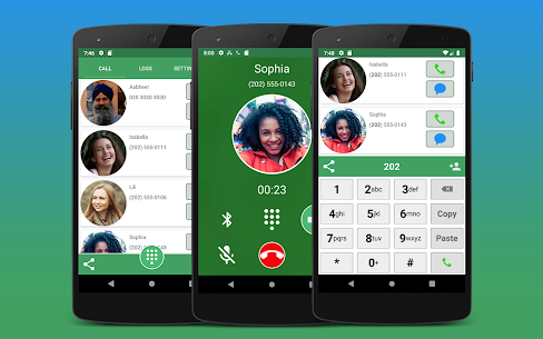 Contacts, Dialer and Phone by Facetocall 10