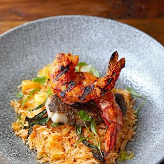 Jerk Pork and Prawn Hot Rice.