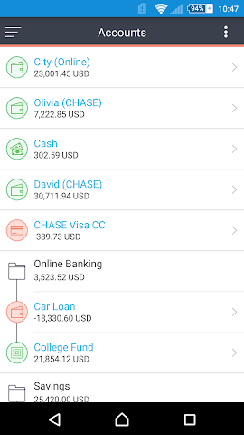 android MoneyWiz 2 - Personal Finance Screenshot 9