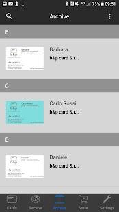 b&p Card - náhled
