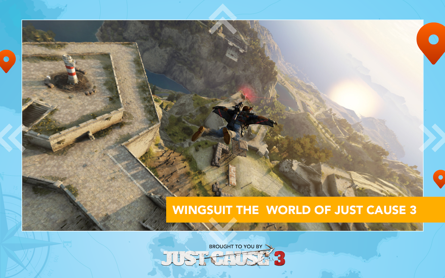 Just Cause 3: WingSuit Tour – képernyőkép