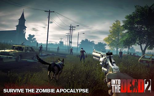 Screenshot 1 Into the Dead 2: Zombie Survival 1.18.0 APK MOD