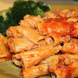 Quick Dinner Ziti Bake Recipe