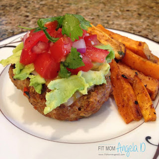 21 Day Fix Southwest Avocado Turkey Burgers