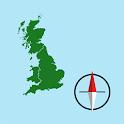 GB Grid Ref Compass icon