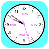 Analog Clock Classic Android APK Download Free By Digital World's