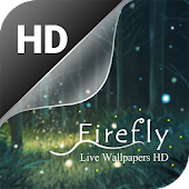 Firefly live wallpaper HD