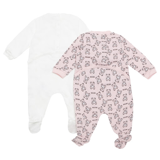 Thumbnail images of Moschino Teddy Bear Babygrow Set