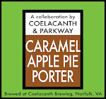 Coelacanth Caramel Apple Pie Porter