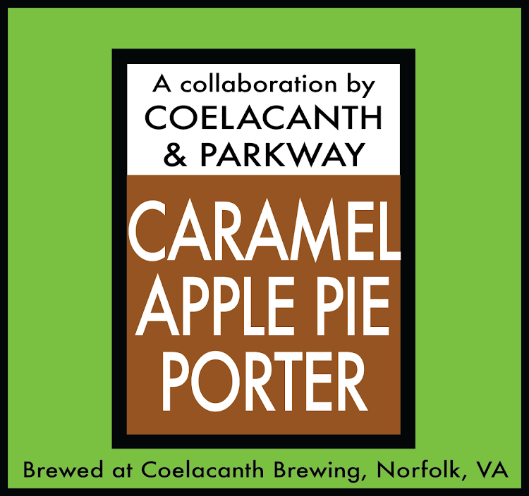 Logo of Coelacanth Caramel Apple Pie Porter