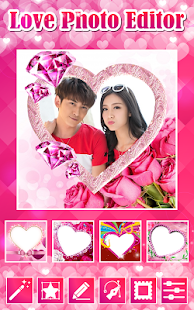 download valentine photo editor for pc windows and mac apk screenshot 1